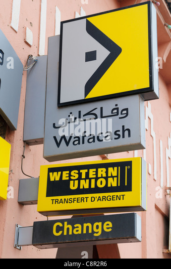 Western union sign money transfer stock photos western union sign money transfer stock images - Western union bureau de change ...