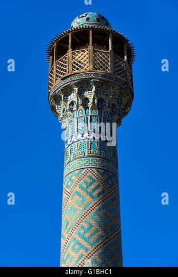 Iran, Isfahan Province, Isfahan, Jame Mosque - Stock Image