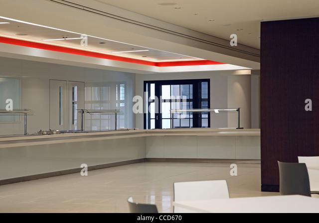 Bank of China London Headquarters, Pringle Brandon, London, 2010, Staff restaurant - Stock Image