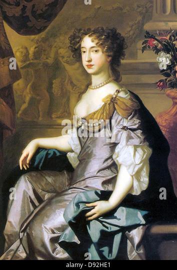 Queen Mary II of England - Stock Image