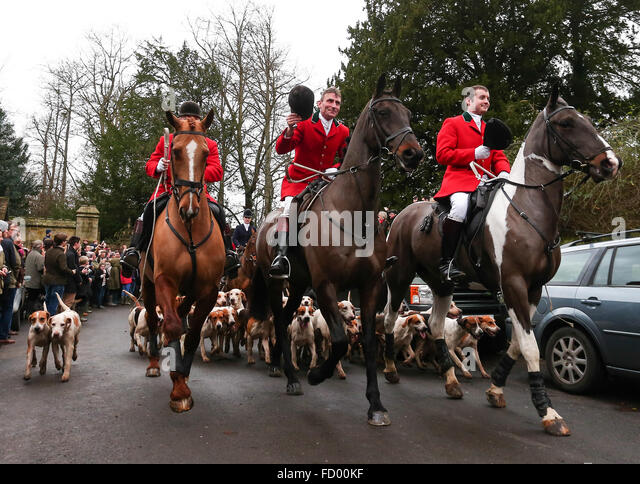 old surrey and burstow hunt boxing day meet