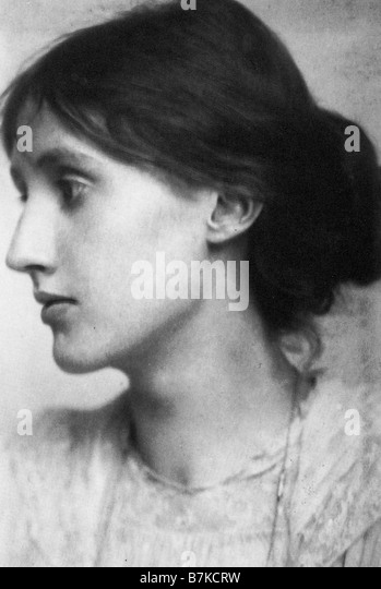 VIRGINIA WOOLF  English writer - Stock Image