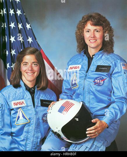 Christa McAuliffe and Barbara Morgan - Stock Image