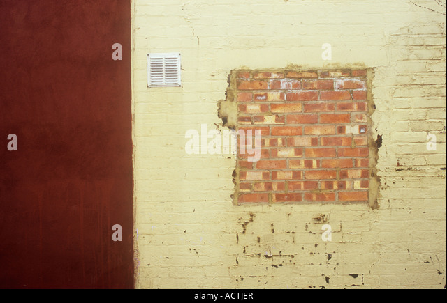 Brick Wall With Air Vent Stock Photos & Brick Wall With Air Vent ...