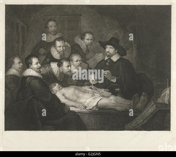 The anatomy lesson of dr nicolaes tulp