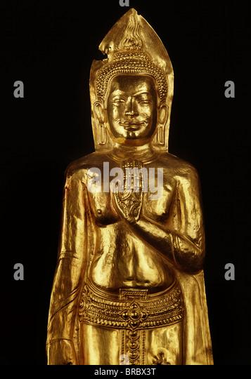 Standing Buddha Museum Stock Photos & Standing Buddha ...