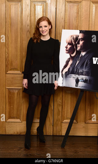 A Most Violent Year photocall - London - Stock Image