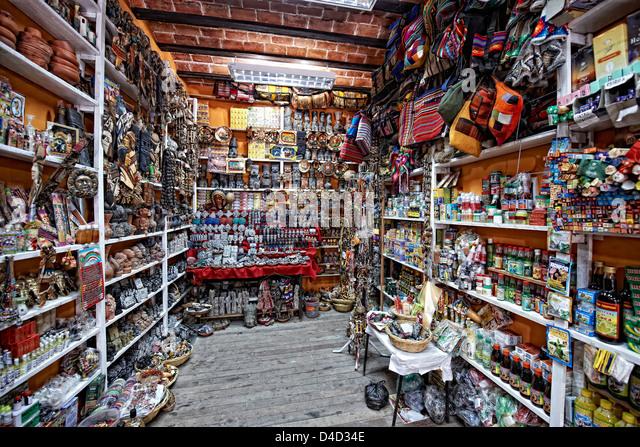 Mercado de Hechiceria, Bolivia, South America, America - Stock Image