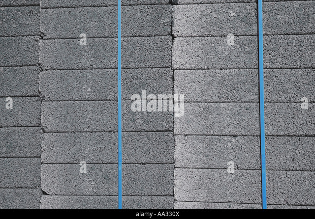 Concrete Blocks - Stock Image