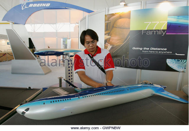 Plane model exhibition stock photos plane model - China southern airlines london office ...