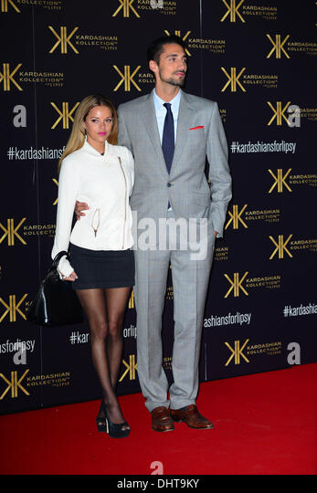 London UK 14th Nov 2013 :  Natalie Joel; Hugo Taylor attends the launch party for the Kardashian Kollection for - Stock Image