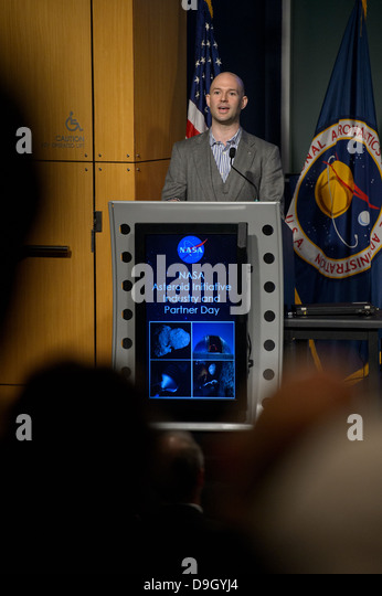 Asteroid Initiative Industry and Partner Day (201306180024HQ) - Stock Image