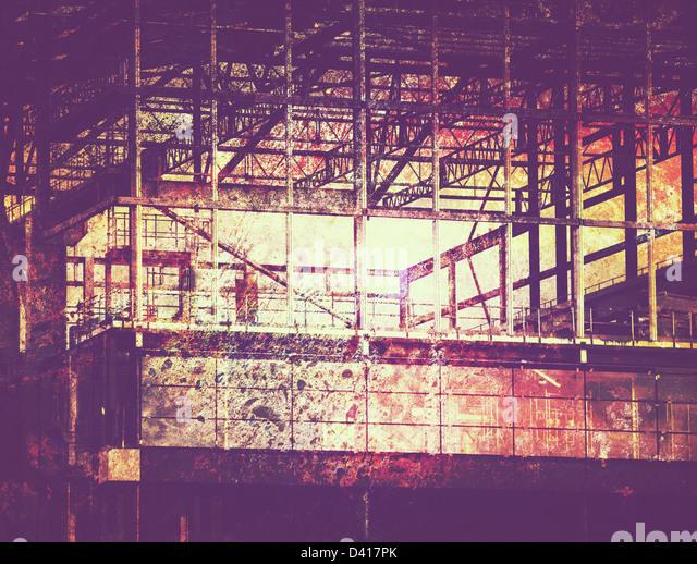 grunge construction - Stock-Bilder