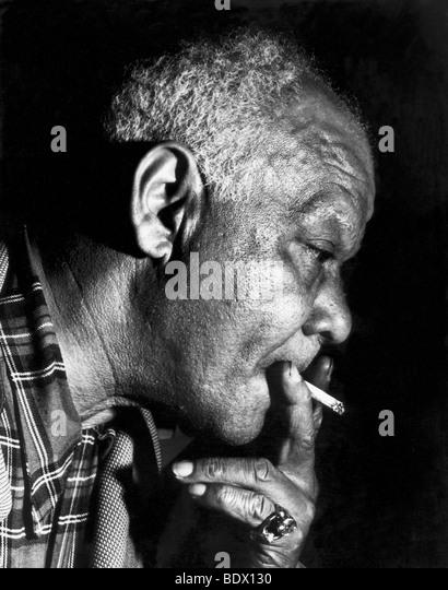 SIDNEY BECHET  - US jazz musician - Stock Image