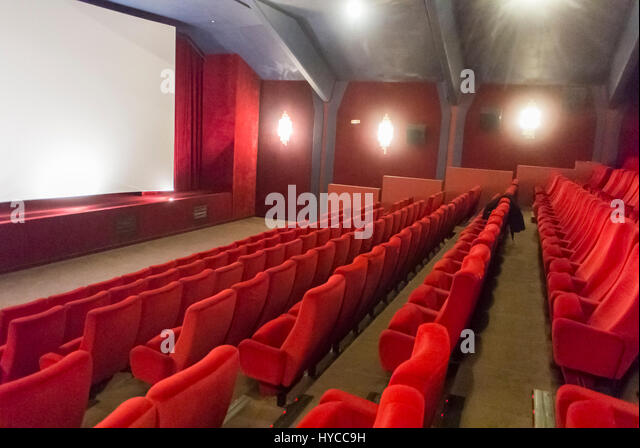 Cinema seating stock photos cinema seating stock images for Inside french film