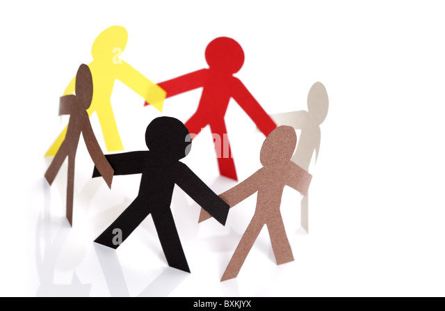 Community and friendship - Stock Image