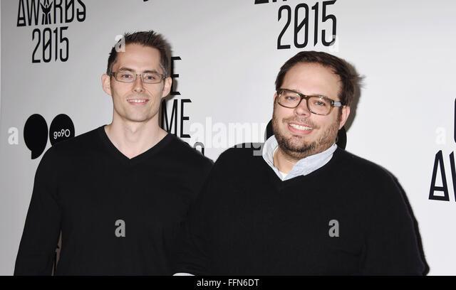 Mark Lamia, Luke Smith, 03.12.2015 - Stock Image