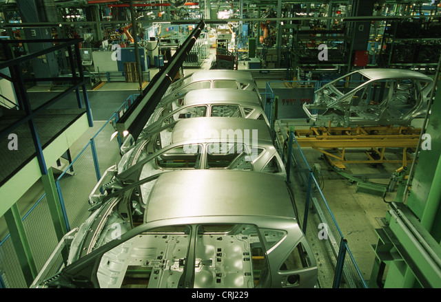 Car Industry Assembly Line Stock Photos Amp Car Industry Assembly Line Stock Images Alamy