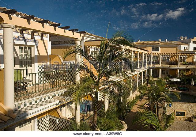 Portugal Algarve Lagos Hotel Dom Manuel - Stock Image