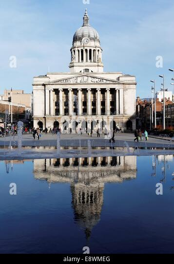 Nottingham Council House. - Stock Image