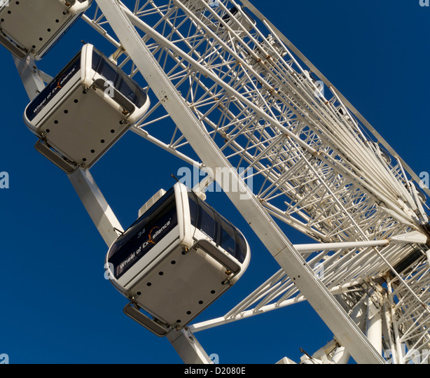 Brighton wheel, Brighton, Sussex, England, UK - Stock Image
