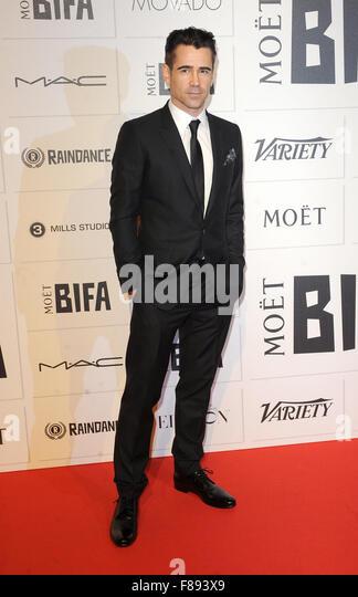 London. UK. Colin Farrell   at the Moet British Independent Film Awards.  Old Billingsgate Market.  6th December - Stock Image