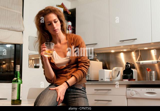Drunk mature women
