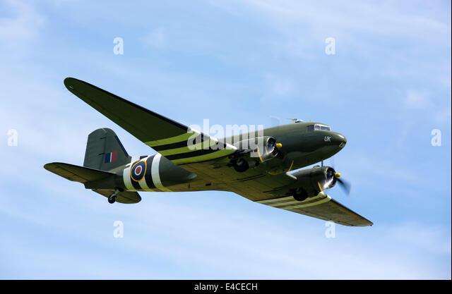 Douglas C-47 Dakota ZA947 - Stock Image