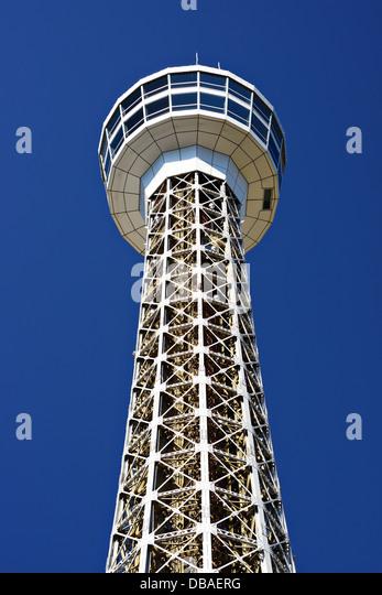 Yokohama, Japan marine tower. - Stock Image