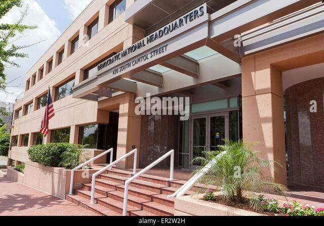 Democratic National Committee headquarters - Washington, DC USA - Stock Image