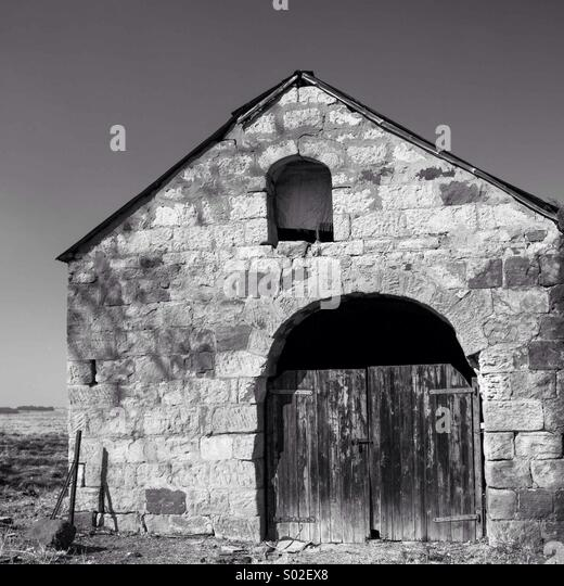 Old Barn (Ermelo, South Africa) - Stock Image