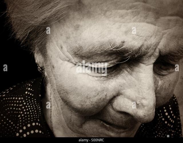 Old woman - Stock-Bilder