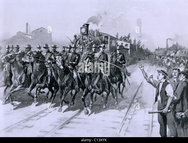 an analysis of the pullman strike of 1894 in the united states of america American workers have striked to demand better pay, working conditions and benefits here's a list of the biggest us work stoppages.