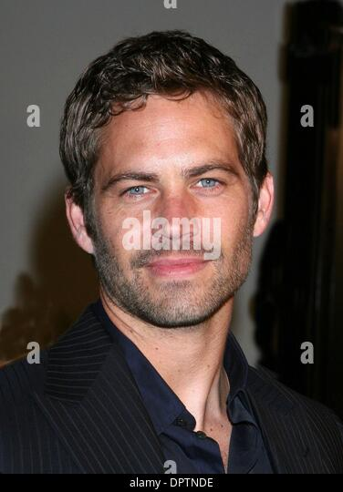 Mar 12, 2009 - Los Angeles, California, USA - Actor PAUL WALKER  at the 'Fast & Furious' World Premiere - Stock Image