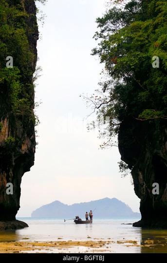 Thailand,Ko Hong island - Stock Image