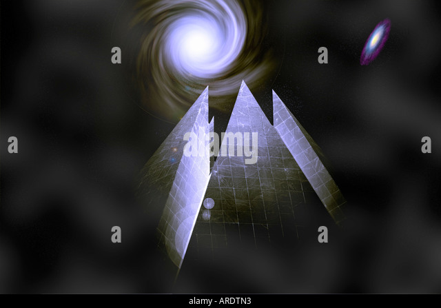 Alien World Conception - Stock Image