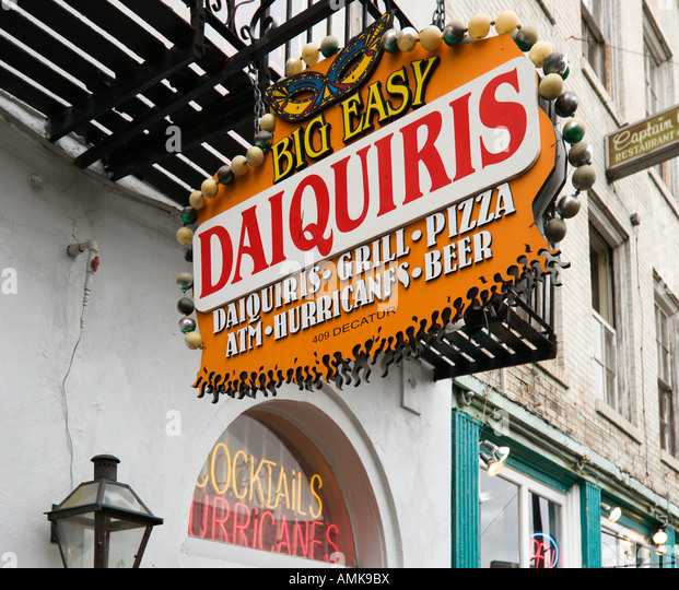 Big Easy Bar, Decatur Street, French Quarter, New Orleans, Lousiana ...