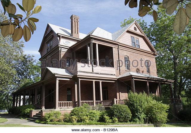 Alabama Tuskegee Tuskegee Institute National Historic Site Tuskegee University The Oaks Booker T. Washington home - Stock Image