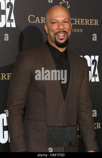 Los Angeles, CA, USA. 30th Jan, 2017. Common at arrivals for JOHN WICK: CHAPTER TWO Premiere, Arclight Hollywood, - Stock-Bilder