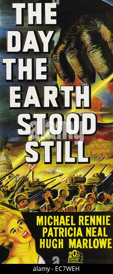 The Day The Earth Stood Still - Stock Image
