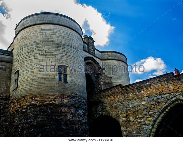 Nottingham Castle - Stock Image