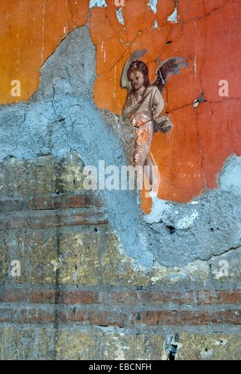 Pompeii fresco stock photos pompeii fresco stock images for Casa del cortile spagnolo