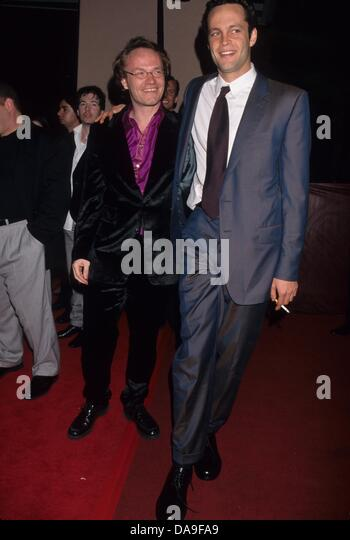 JARED HARRIS with Vince Vaughn.The 70th Academy Awards party at Beverly Hills Hotel 1998.k11721lr.(Credit Image: - Stock Image