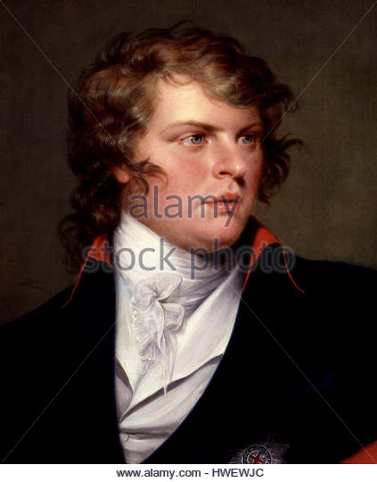 Prince Augustus Frederick, Duke of Sussex - Stock-Bilder