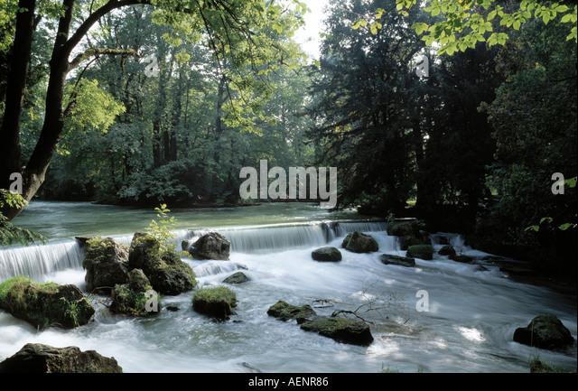 Wasserfall stock photos wasserfall stock images alamy - Wasserfall garten ...