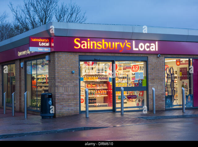 Sainsburys Local Stock Photos & Sainsburys Local Stock ...