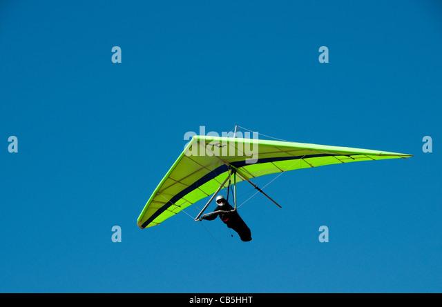 Hang gliding, hang glider, Fort Funston, San Francisco, California, USA. Photo copyright Lee Foster. Photo # california108414 - Stock Image