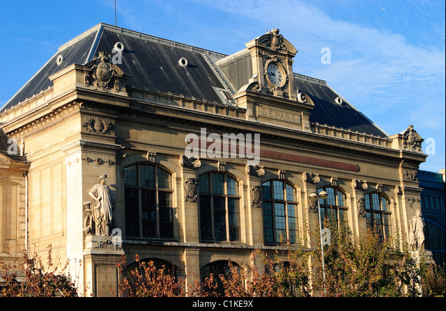 France, Paris, station of Austerlitz - Stock Image