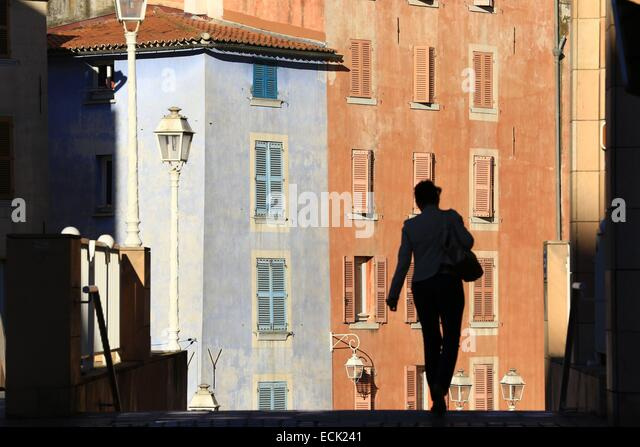 France, Var, Toulon, rising Horeia - Stock Image