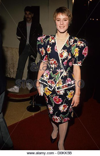 MARY STUART MASTERSON 1989.f7946.(Credit Image: © Ralph Dominguez/Globe Photos/ZUMAPRESS.com) - Stock Image